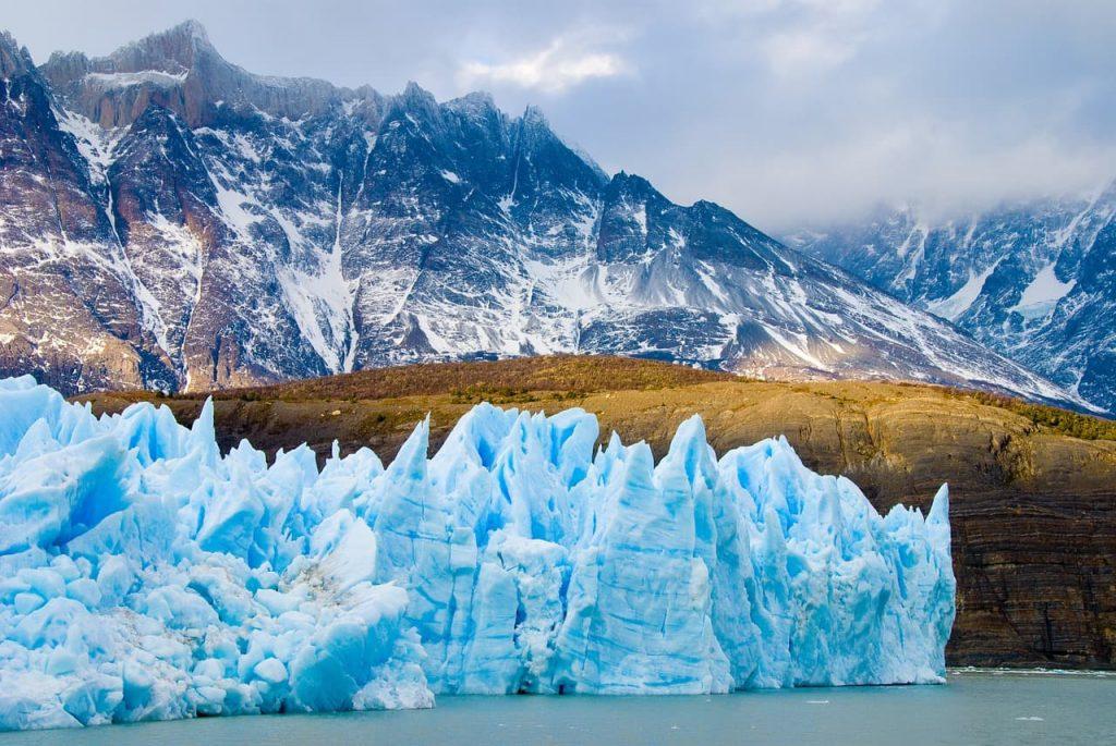 Geleiras e neve na Argentina
