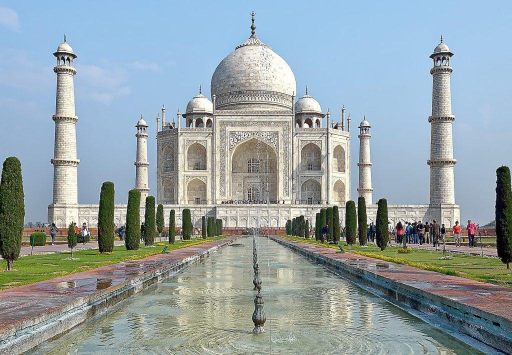 Aniversario de casamento em Agra na Índia