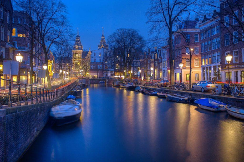 Aniversario de casamento em Amsterdã na Holanda