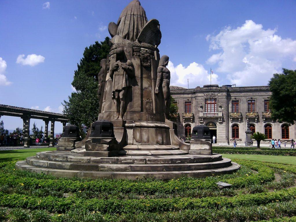 Castelo de Chapultepec na Cidade do Mexico