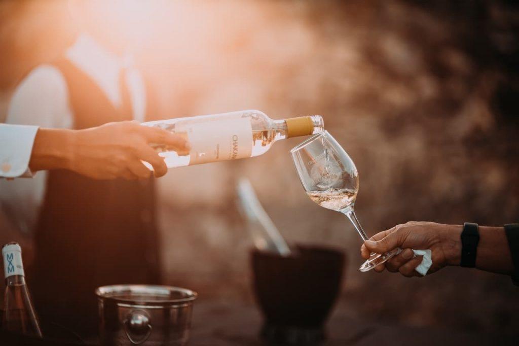 Batalha do vinho em La Rioja na Espanha