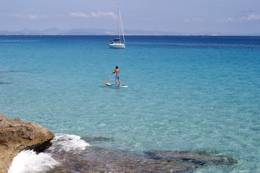 Ilha de Formentera, a menor das Ilhas Baleares na Espanha