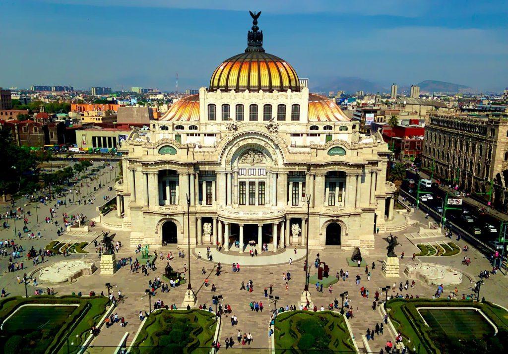 Zócalo na Cidade do Mexico