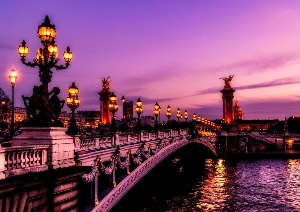 Aniversario de casamento em Paris na França