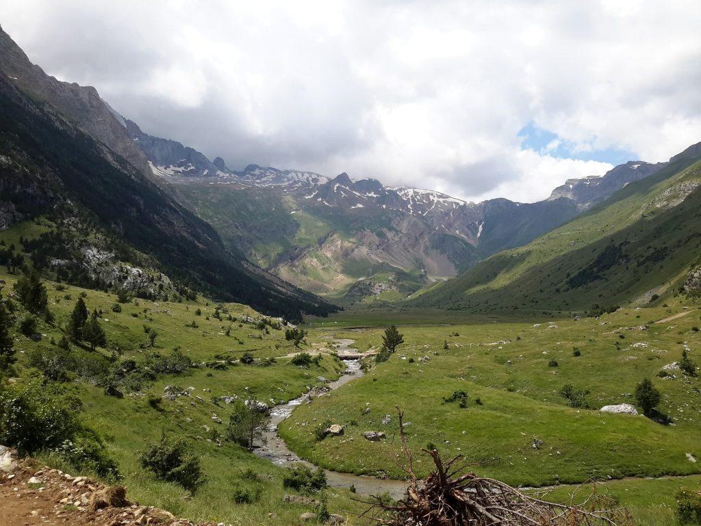 Parque dos Pirineus na Espanha