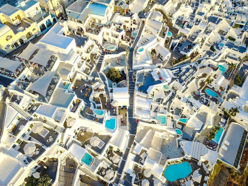 Aniversario de casamento em Santorini na Grécia