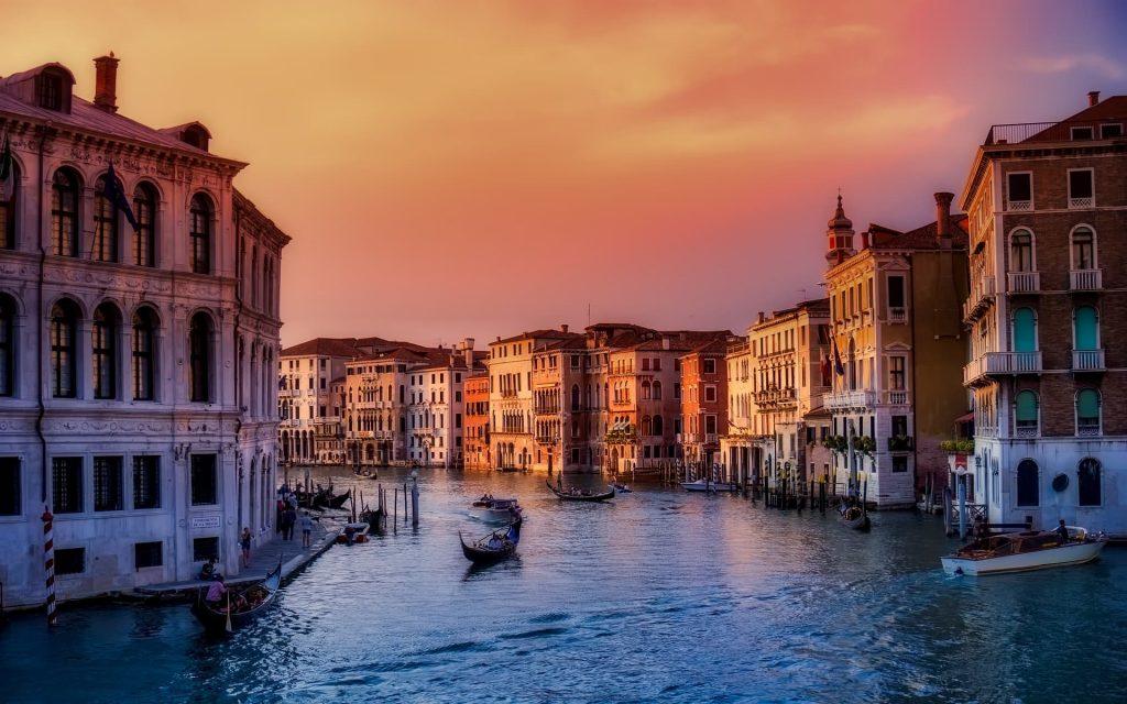 Aniversario de casamento em Veneza na Itália