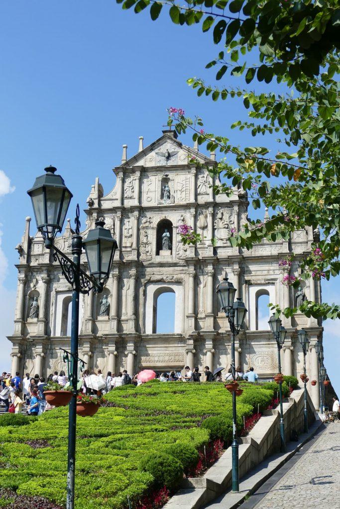 História de Macau na China.