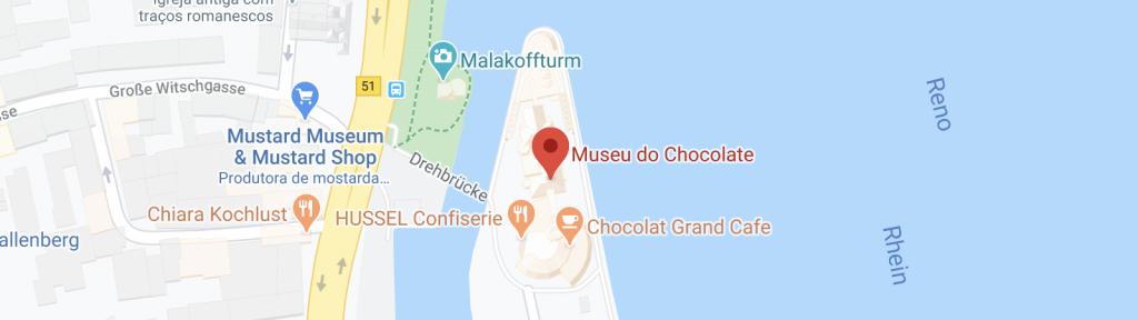 Museu do chocolate em Colonia na Alemanha