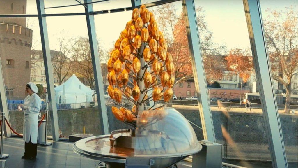 Museu do chocolate em Colônia na Alemanha