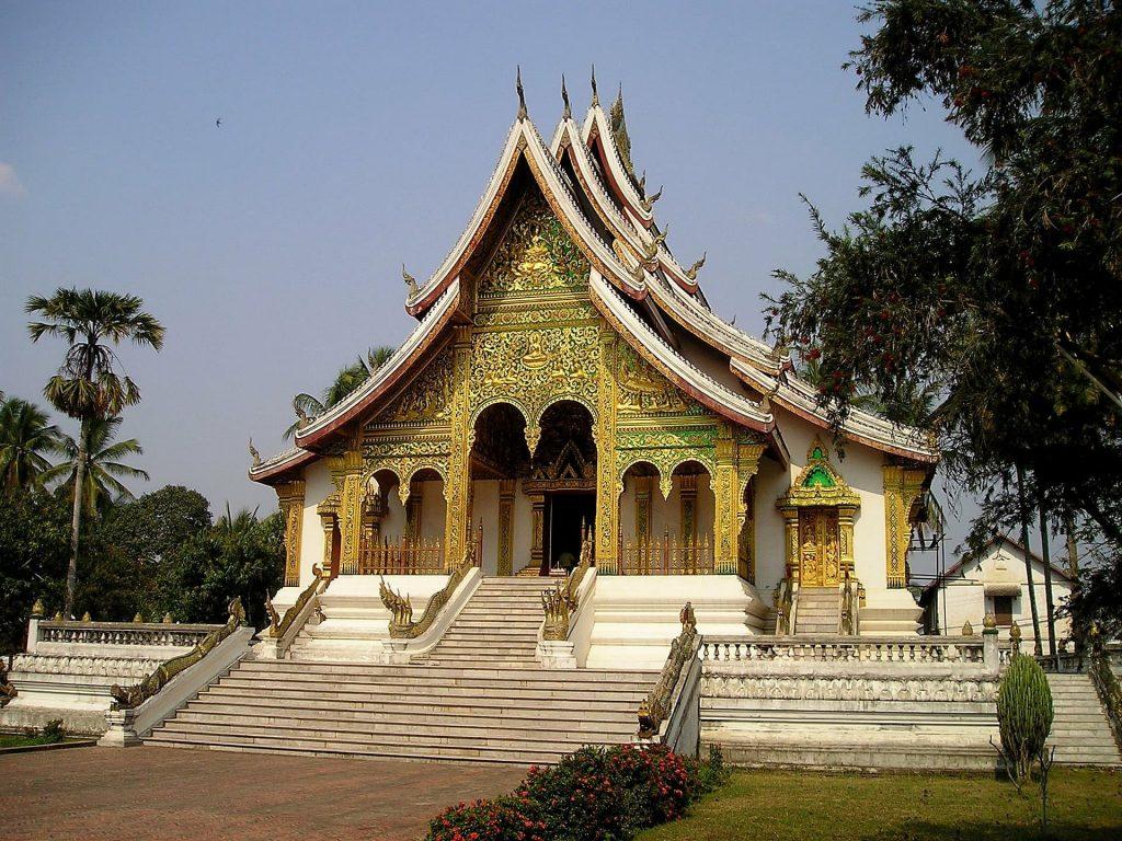 Templo Budista no Laos
