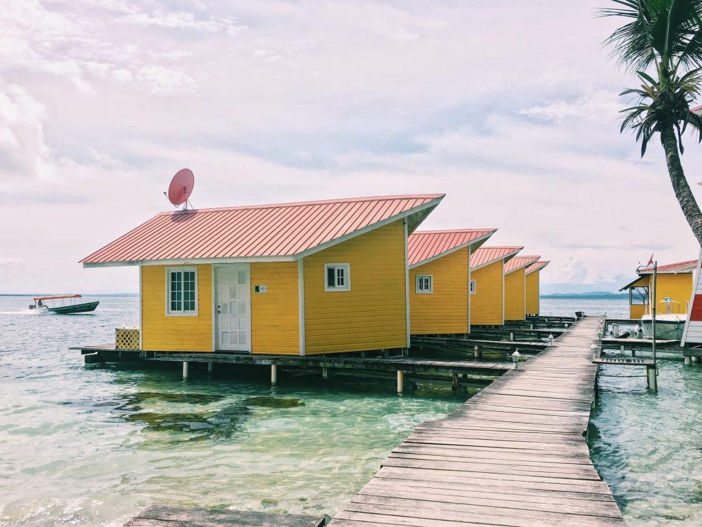 Fotos Construções de palafitas - Bocas del Toro - Panamá