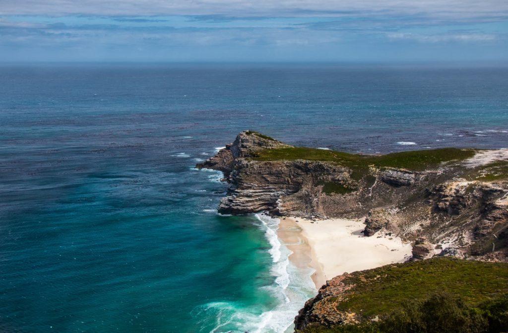 Good Hope Cape na Cidade do Cabo na Africa do Sul