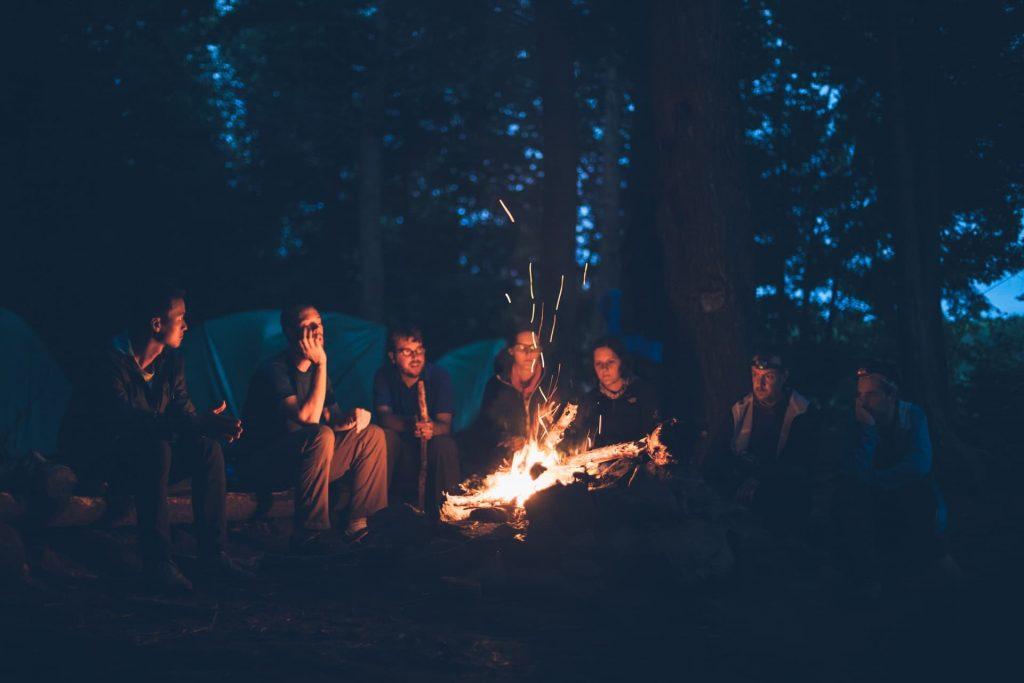 Camping na Escócia highlands