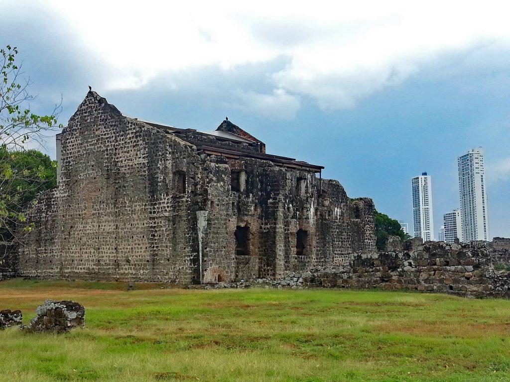 Foto Ruínas - Panamá Viejo