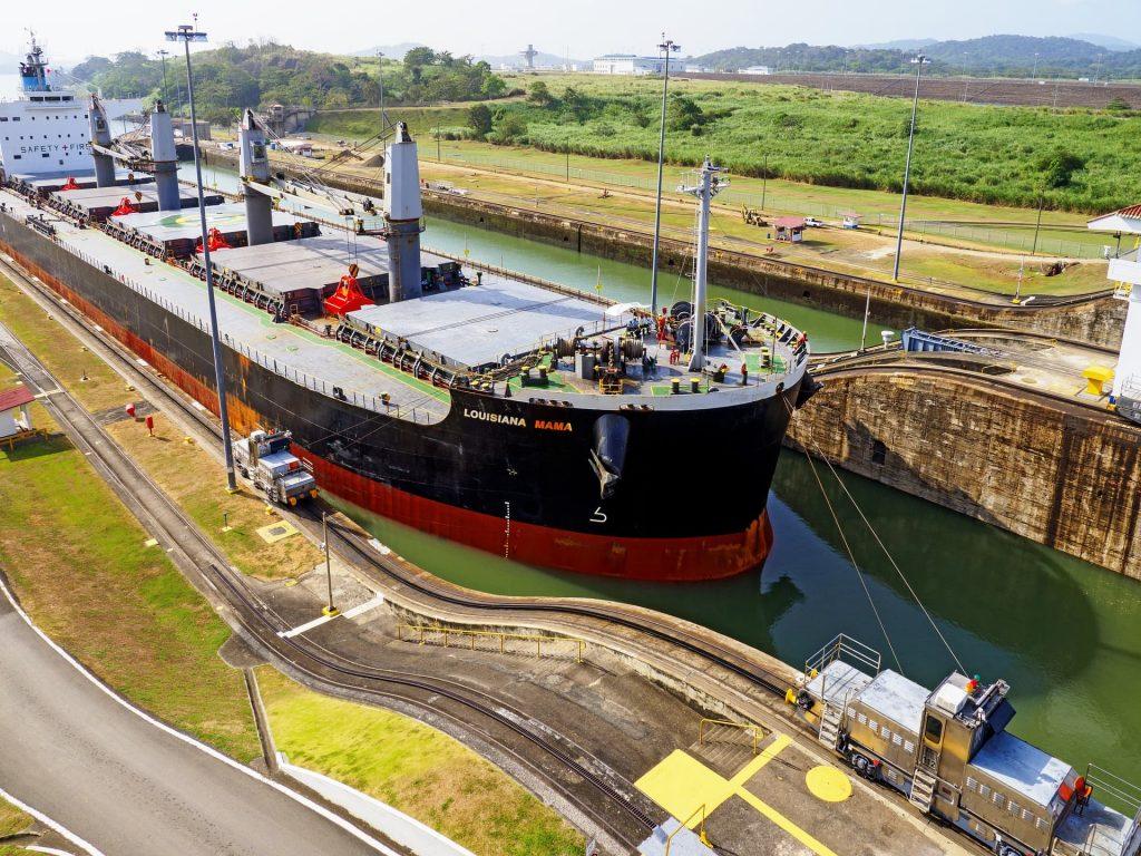Foto do Canal do Panamá