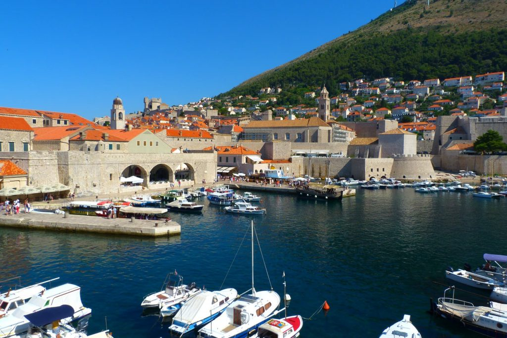 Cidade de Dubrovnik, na Croácia