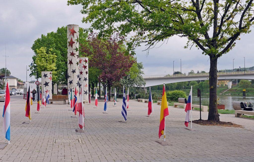 Cidade de Schengen, em Luxemburgo