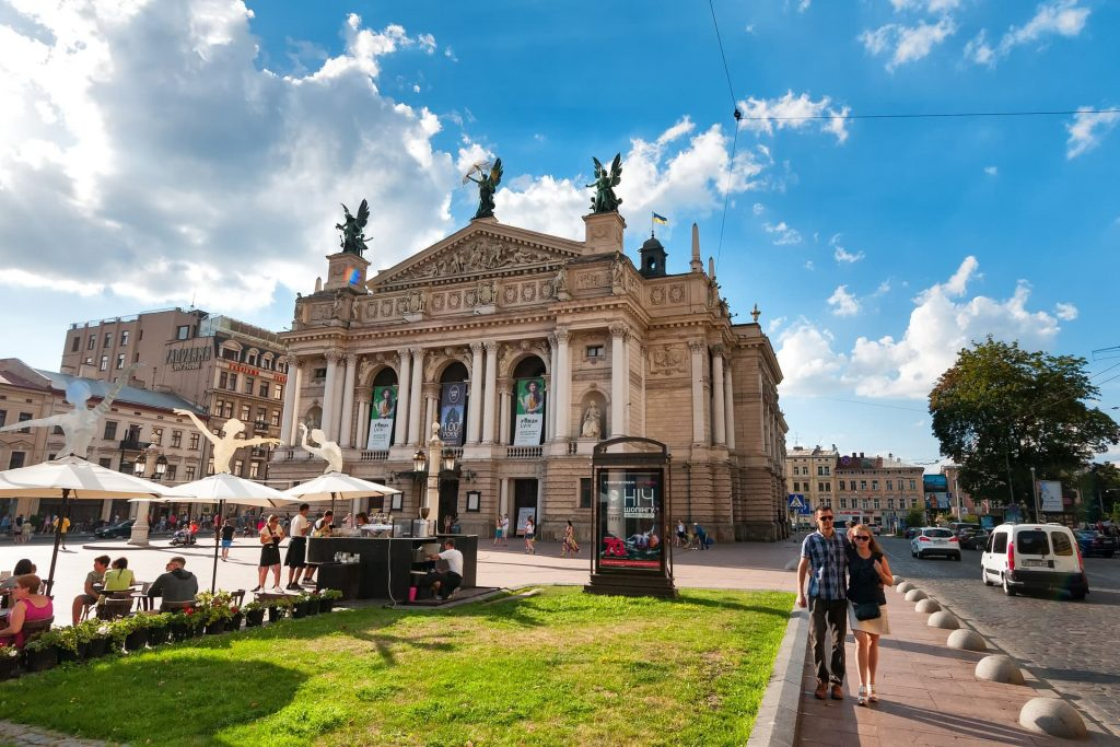 Ópera Nacional de Lviv na Ucrânia