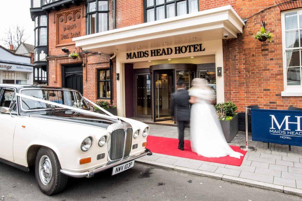 Hotel Maids Head na Inglaterra