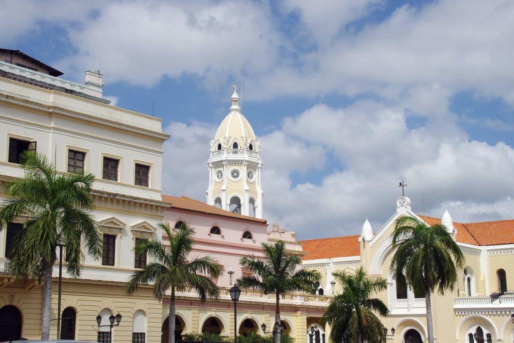 Foto do Centro Histórico da Cidade do Panamá