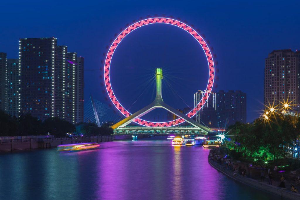 Roda-gigante The Str of Nanchang na china