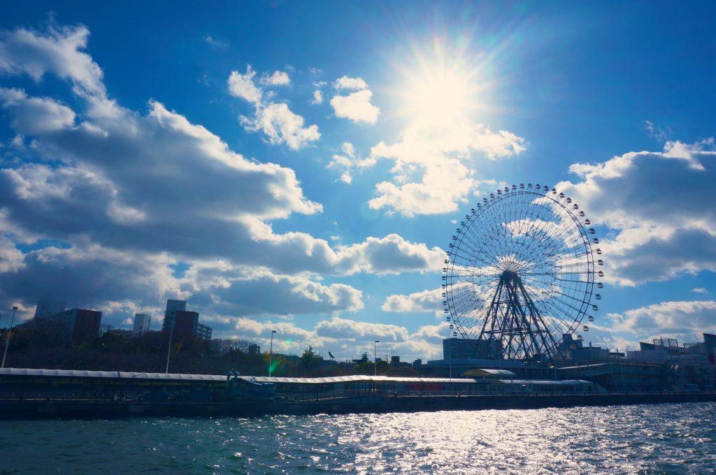 Roda-gigante Red Horse Osaka Wheel em Osaka no Japão