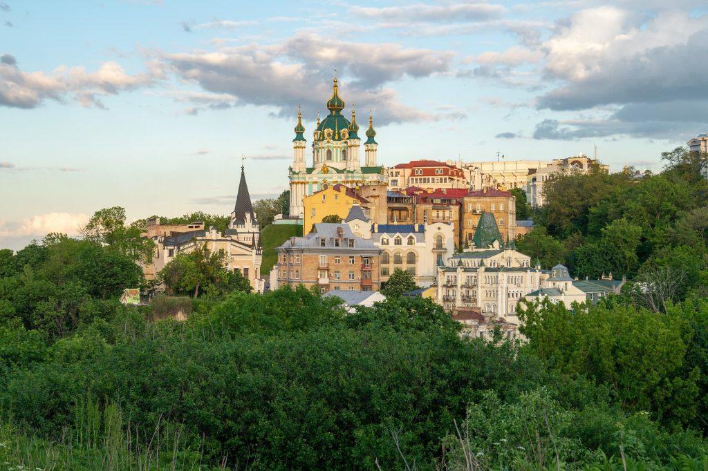 Cidade de Kiev, capital da Ucrânia