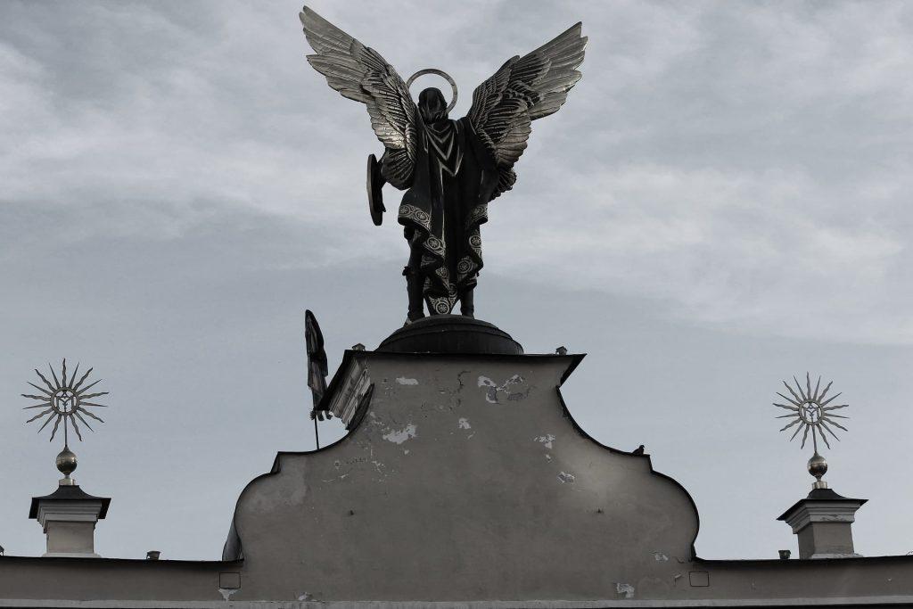 Praça da Independência em Kiev na Ucrânia