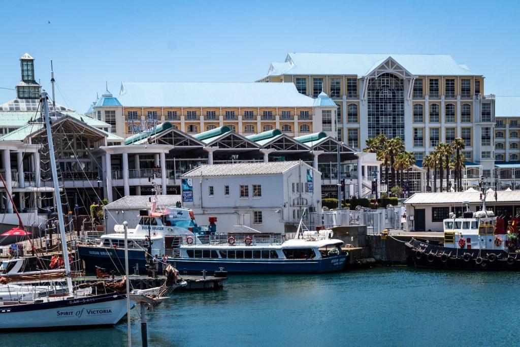 V & A Waterfront na Cidade do Cabo na Africa do Sul