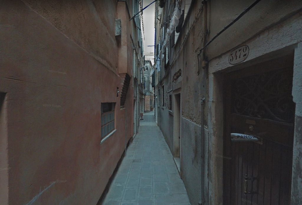 Veneza é feita de vielas