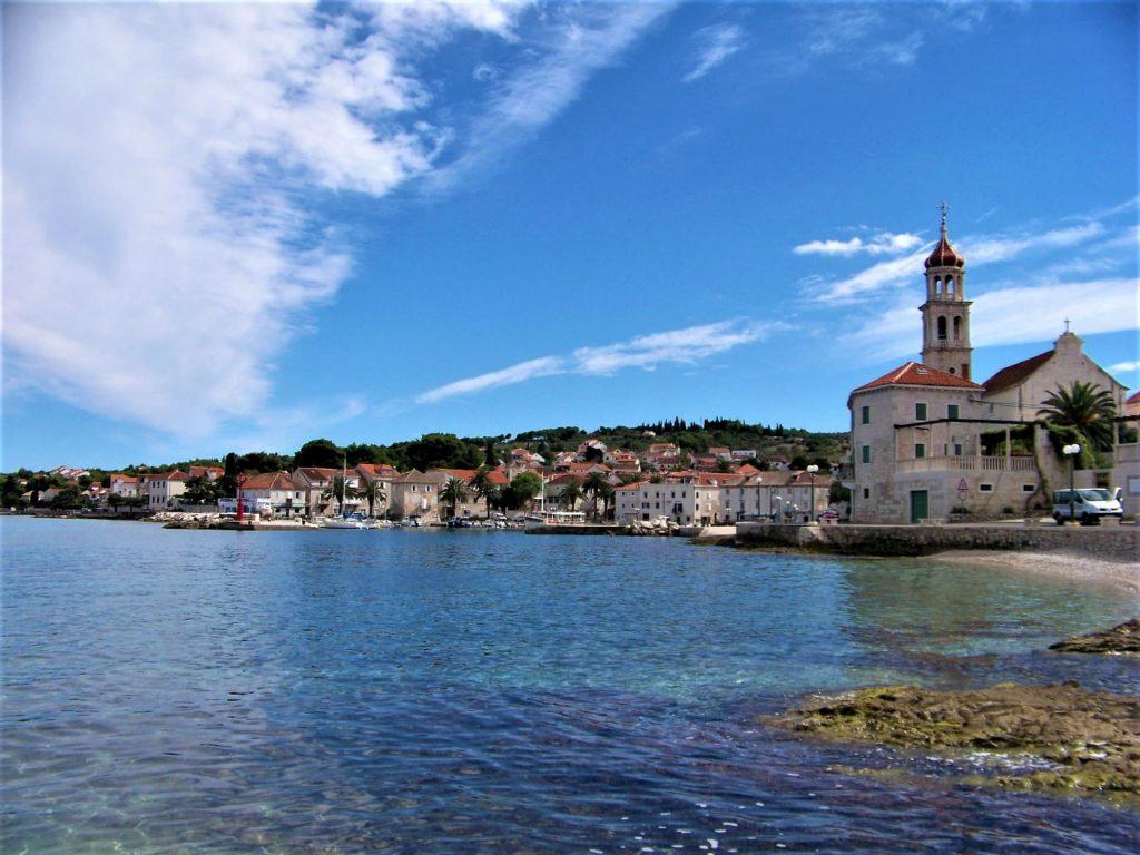 Ilha de Brač, na Croácia