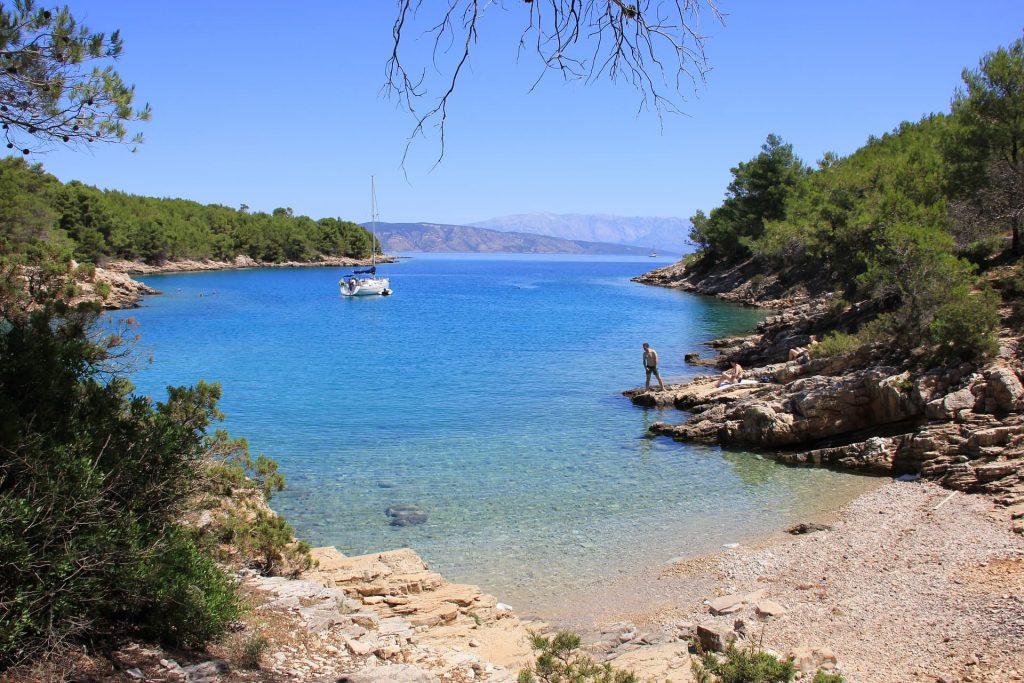 Ilha de Hvar, na Croácia