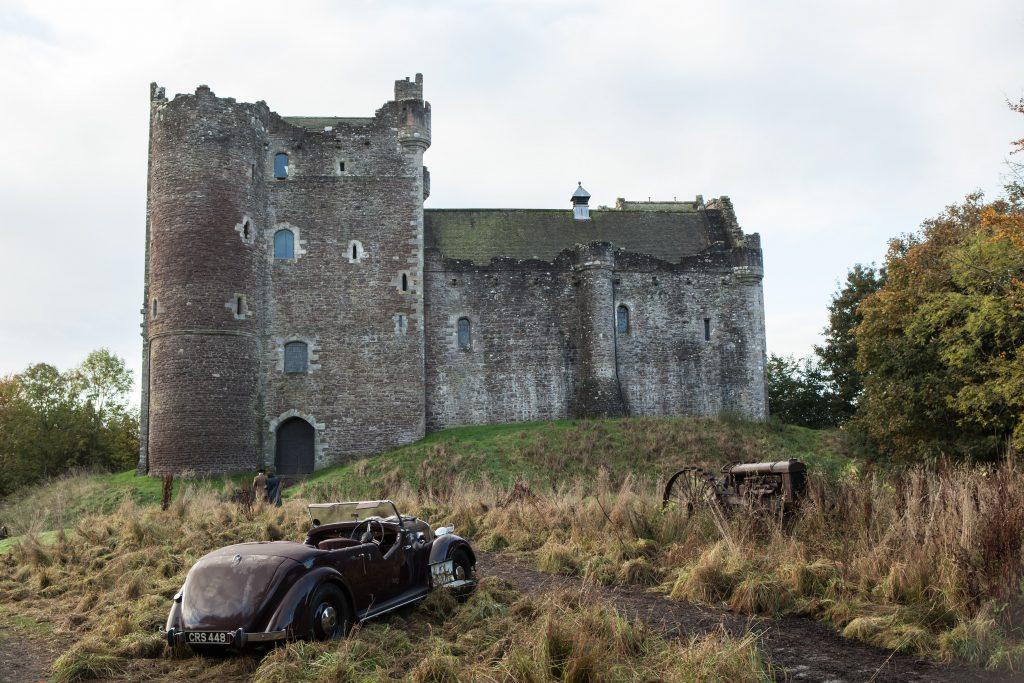 Castelo de Leoch, Outlander 1ª temporada