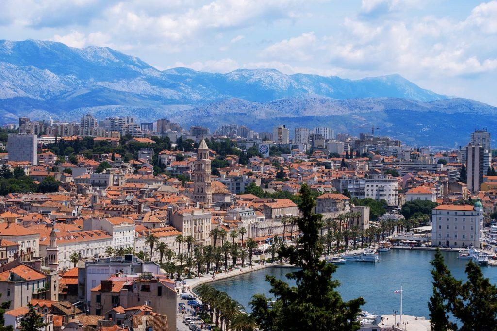 Split, na Croácia