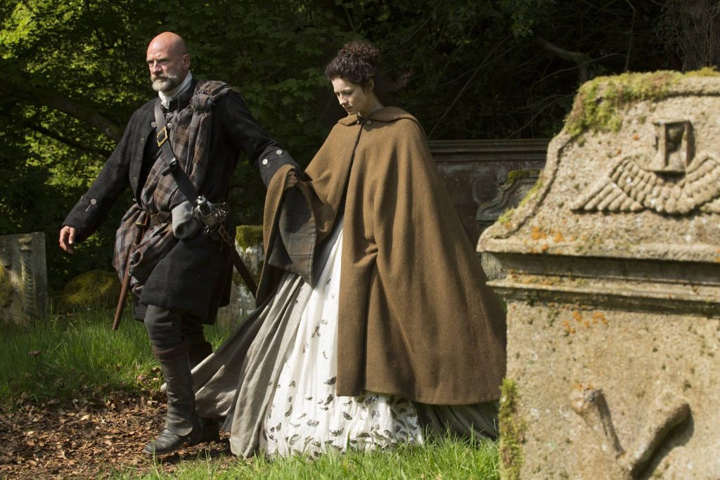 Bastidores do Casamento Clair e Jamie Outlander