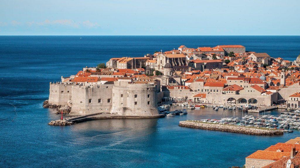 Cidade Velha, Dubrovnik na Croácia