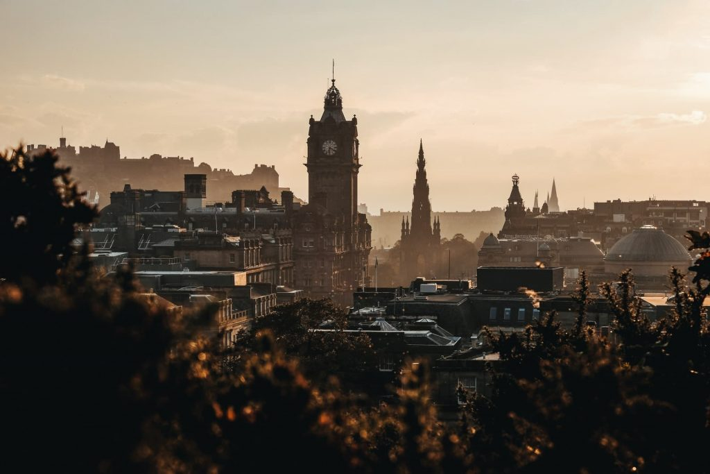 Edimburgo, capital da Escócia