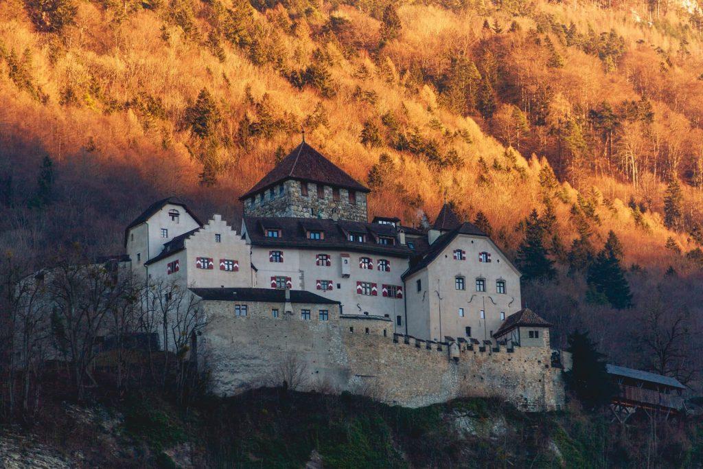 Liechtenstein, na Europa