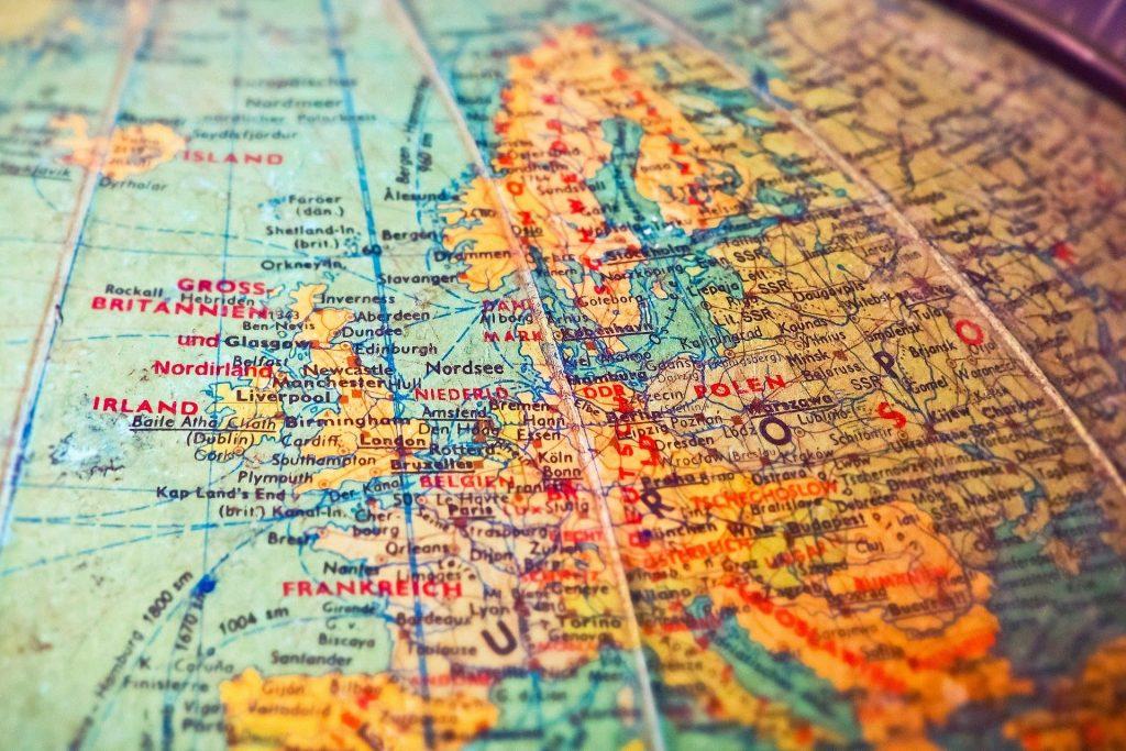 Mapa Mundi Países