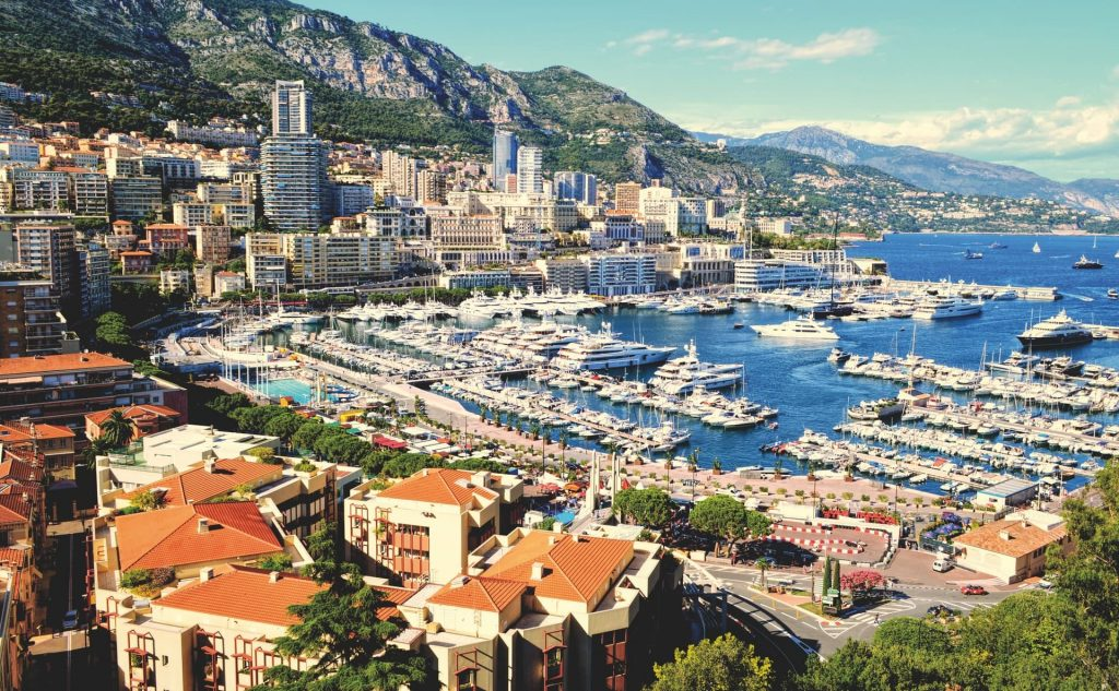 Segundo menor país do mundo: Mônaco