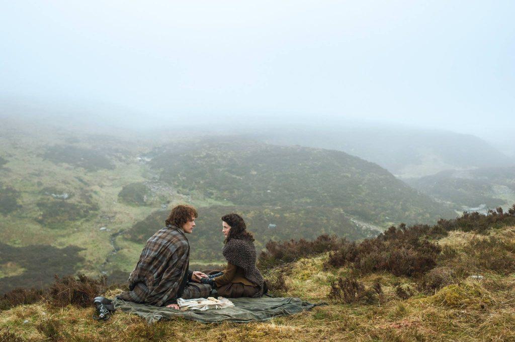 Claire e Jamie depois de casados - Outlander