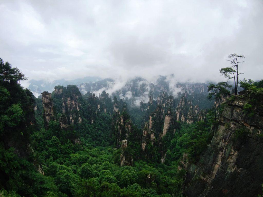 Montanhas de Tianzi