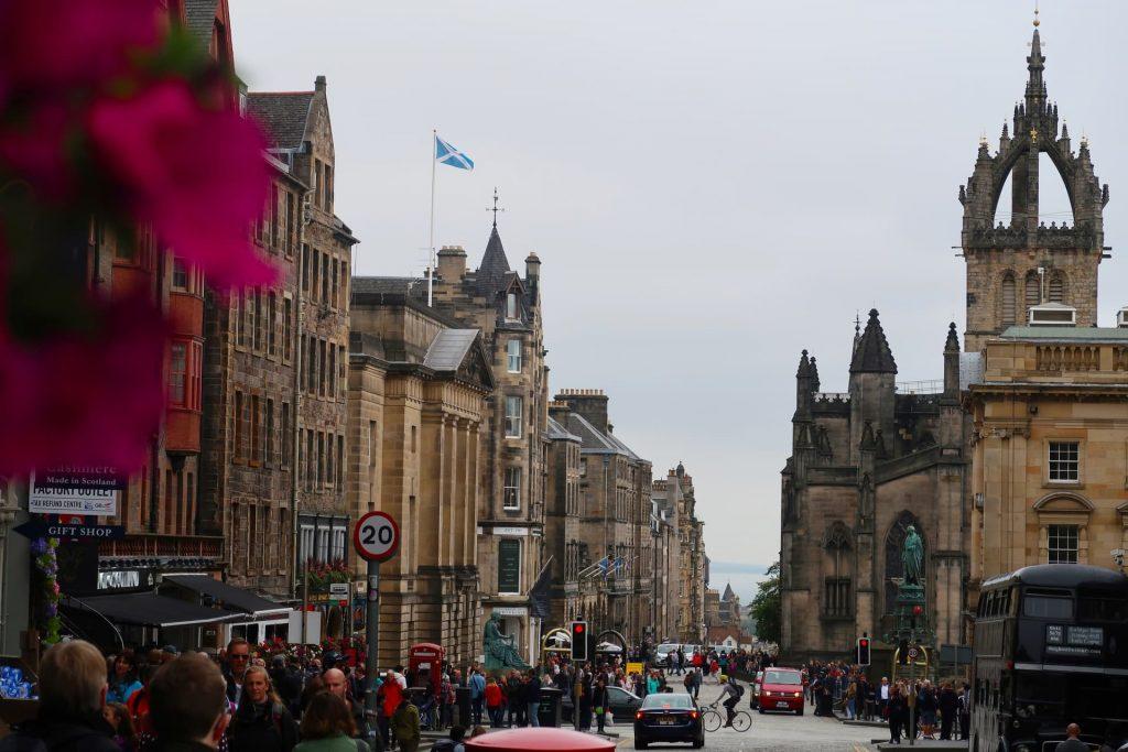 Londres para Edimburgo