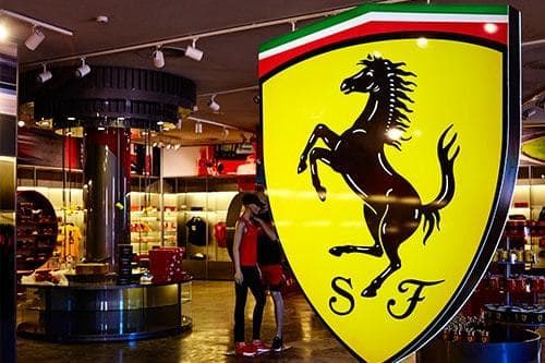 Ferrari Land Shop
