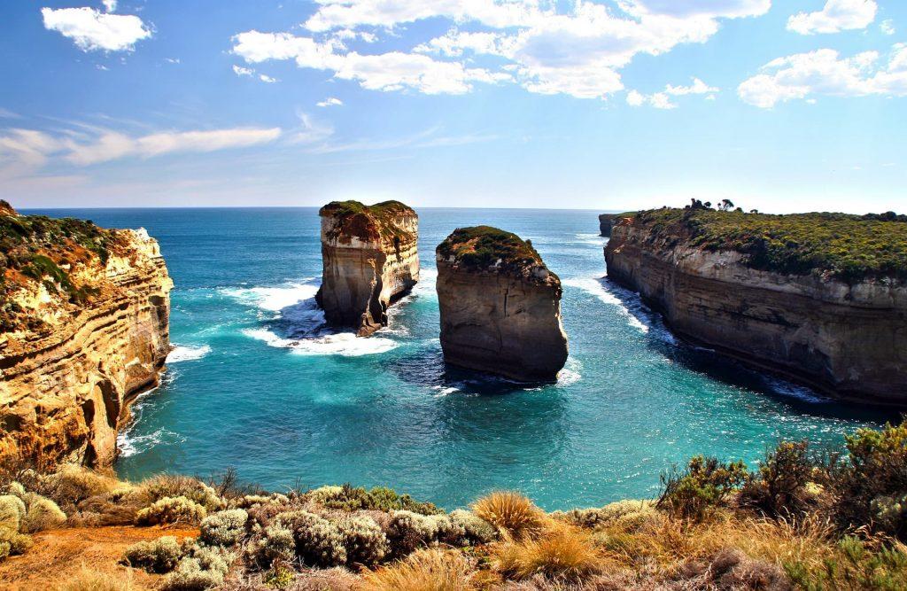 Great Ocean Road na australia saindo de Melbourne