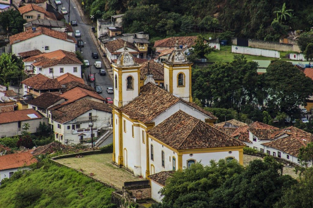Ouro Preto, antiga cidade de Vila Rica