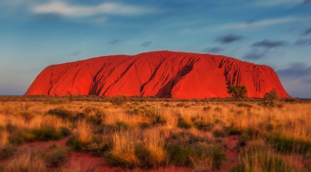 Uluru na Australia