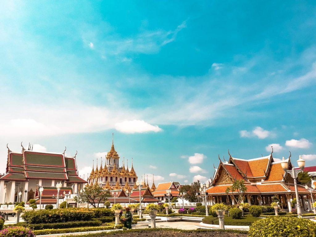 Bankok, capital da Tailândia. Um ótimo destino para fazer junto com as Maldivas