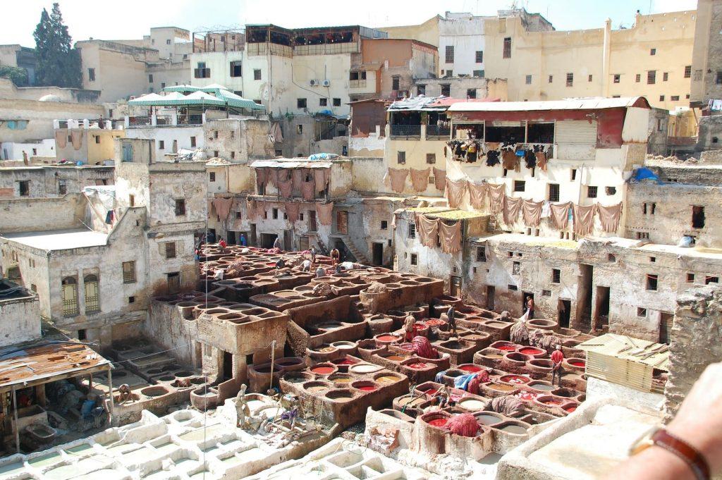 Cidade Fez, Marrocos